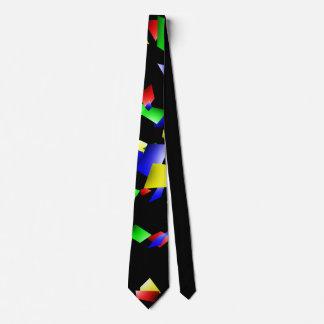 Party Confetti - Black Background Tie
