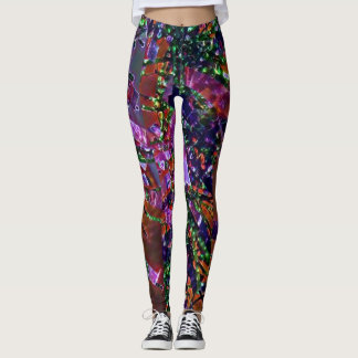 Party confetti leggings