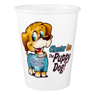 Party Cup From Chester Leo: The Puppy Dog! Paper Cup