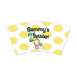 Party Cup Sarah and Duck for Sammy