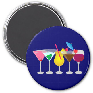 Party Drinks Magnet