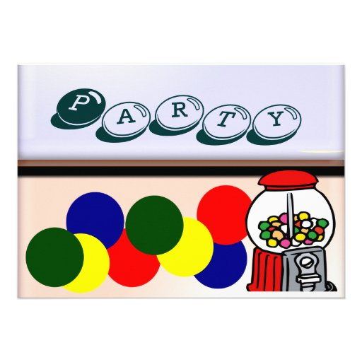 Party Envelope invitation