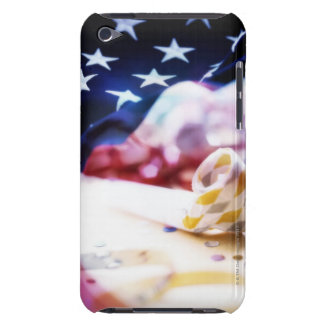 Party Favor and American Flag Barely There iPod Covers