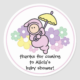 Party Favor Baby Shower Sticker