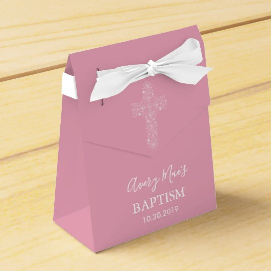 Party Favour Box for Baby's Baptism (Christening)