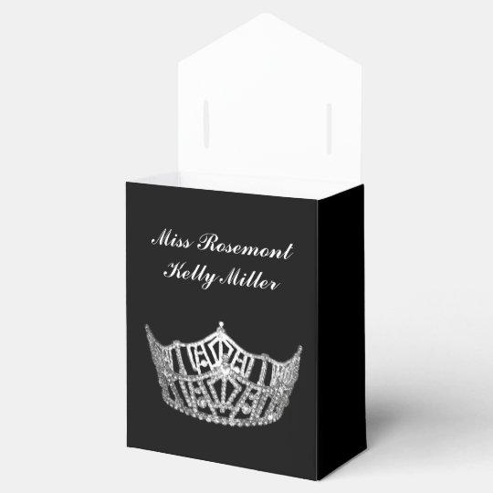 Party Favour Box Pageant Crown Favor Boxes