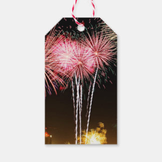 Party Fireworks Gift Tags