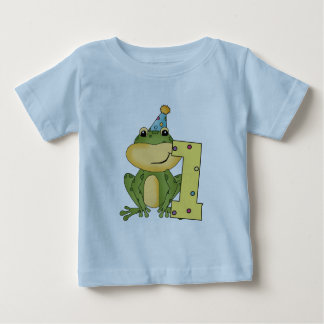 Party Frog 1st Birthday T-shirts and Gifts