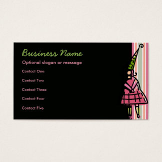 Party Girl Business Cards
