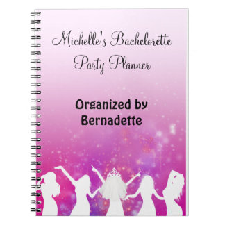 Party Girls Bachelorette Party Planner Notebook