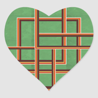 Party Giveaway Squared Window Frames Awesome Heart Sticker