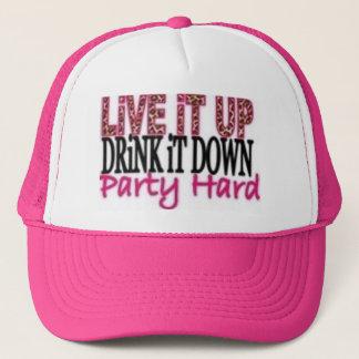 Party Hard Trucker Hat