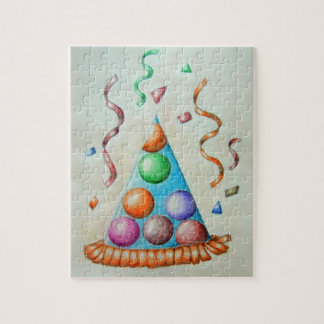 party Hat Jigsaw Puzzle