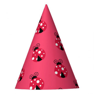 Party Hat-Ladybugs Party Hat