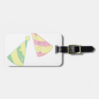 Party Hats Luggage Tag