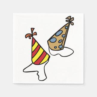 Party Hats Paper Napkins