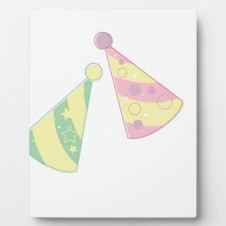 Party Hats Plaque
