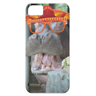 Party Hippo chow time iPhone 5 Covers