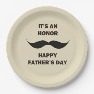 Party Honor Father's Day Party Paper Plates
