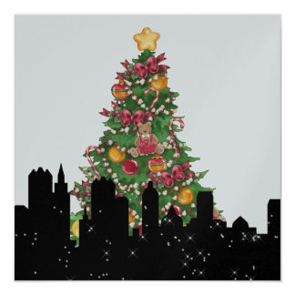 """Party in Style Bright Lights - SRF 5.25"""" Square Invitation Card"""