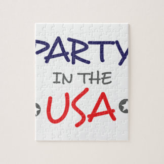 PARTY IN THE USA JIGSAW PUZZLE