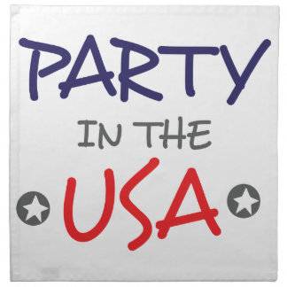 PARTY IN THE USA NAPKIN