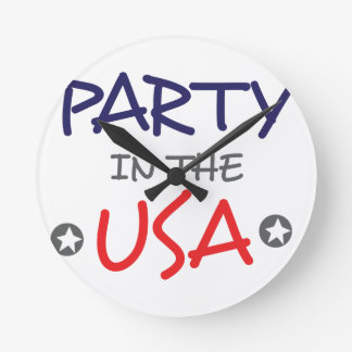 PARTY IN THE USA ROUND CLOCK