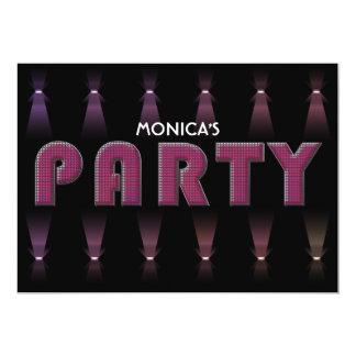 PARTY Invitaion Card