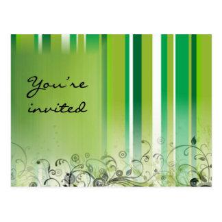 Party invitation! postcard