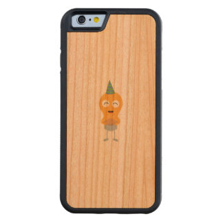 Party light bulb with cake Zt59y Carved Cherry iPhone 6 Bumper Case