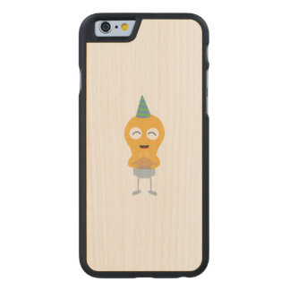 Party light bulb with cake Zt59y Carved Maple iPhone 6 Case