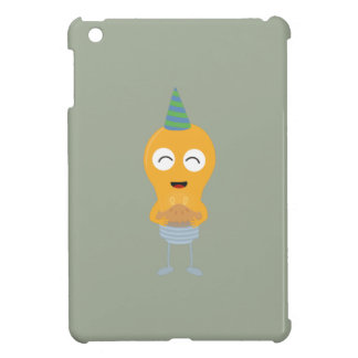Party light bulb with cake Zt59y Cover For The iPad Mini