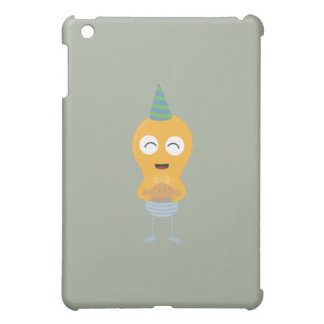 Party light bulb with cake Zt59y iPad Mini Covers