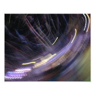 party lights at night 11x14 photo art