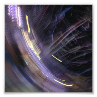 party lights at night 6x6 photograph