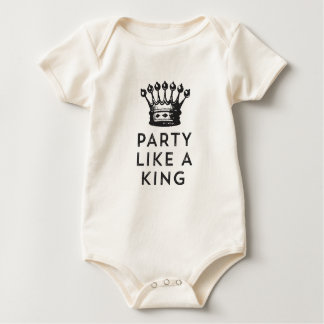 Party Like a King Birthday Tee