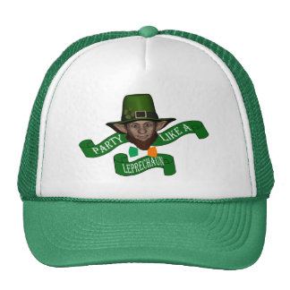 Party like a leprechaun St Patrick s day Hat