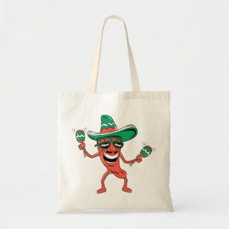 Party like a Pepper Budget Tote Bag