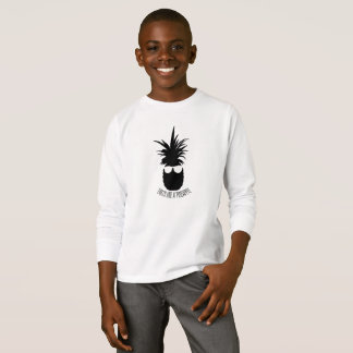 Party Like A Pineapple Silhouette Child Sweater