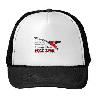 PARTY LIKE A ROCK STAR TRUCKER HAT