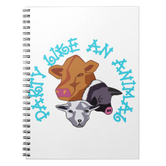 Party like an Animal Note Book