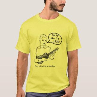 Party Like It's 1929! (Ukulele) T-Shirt