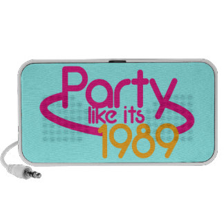 Party like it's 1989 speakers
