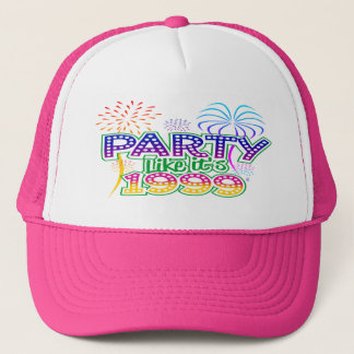 Party Like It's 1999® - Baseball Cap - Des 06 Palm