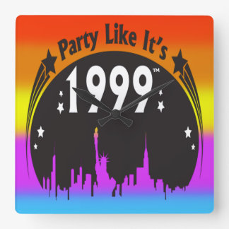 Party Like It's 1999® - Clock - Des 02 NY Rainbow