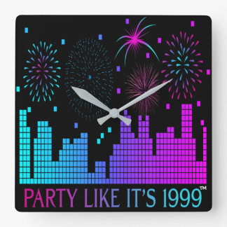 Party Like It's 1999® - Clock - Des 04 Digital Cit