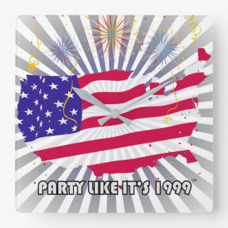 Party Like It's 1999® - Clock - Des 07 USA