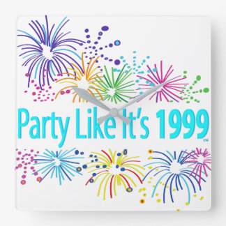 Party Like It's 1999® - Clock - Des 08 Fireworks