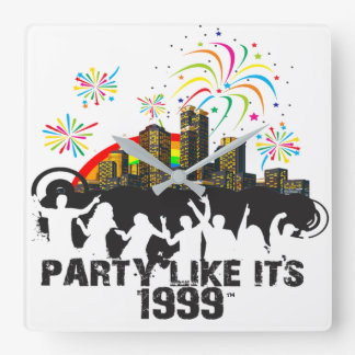 Party Like It's 1999® - Clock - Des 15 Party City