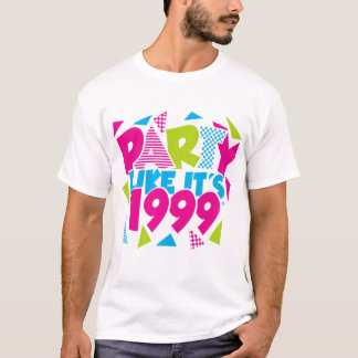 Party Like It's 1999® - T-Shirt - Des 01 Green-Pin